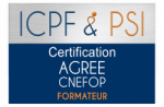 Logo ICPF & PSI Agree CNEFOP Formateur 800